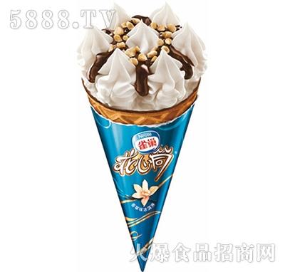 雀巢花心筒香草味冰淇淋