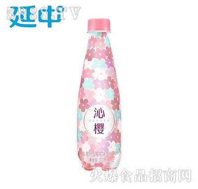 沁樱可乐型樱花味汽水330ml