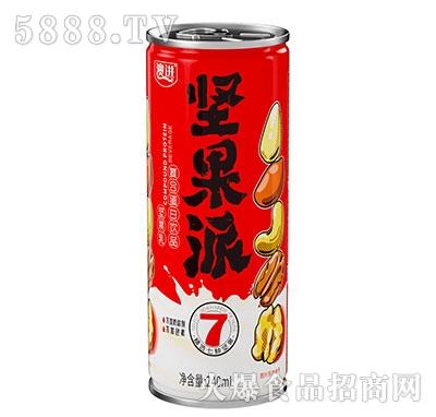 澳进坚果派植物蛋白饮料240ml罐