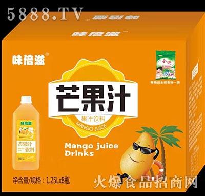 味倍滋芒果汁1.25L×8瓶