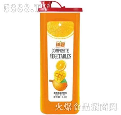 琦露琵琶+芒果+橙子复合果蔬汁饮料1.5L产品图