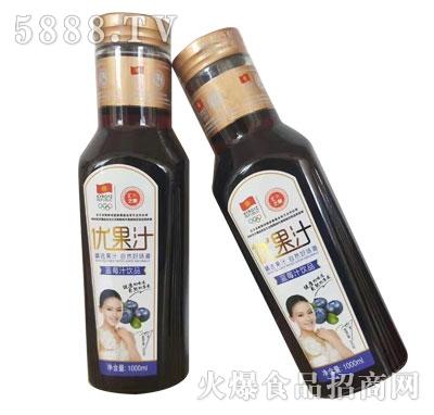 汇之果蓝莓汁(瓶)