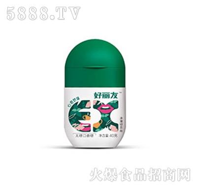 好丽友EX口香糖冰薄绿茶味
