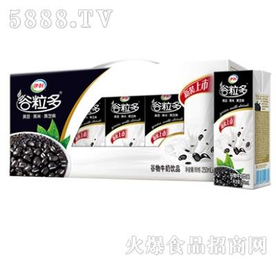伊利谷粒多黑谷谷物牛奶250mlx12盒