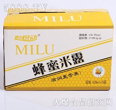 心悦动蜂蜜米露430mlx15