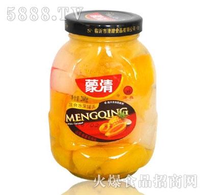蒙清260g混合水果罐头