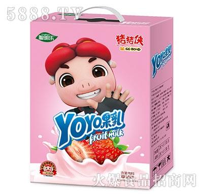 猪猪侠呦呦果乳饮品草莓味
