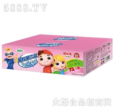 猪猪侠乳酸菌草莓味100mlx40
