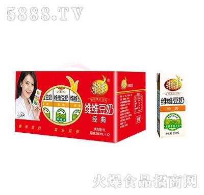 维维无菌砖经典豆奶250mlx12盒