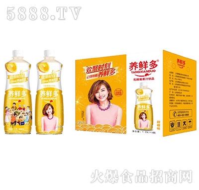 养鲜多乳酸菌果汁甜橙味1.25Lx6