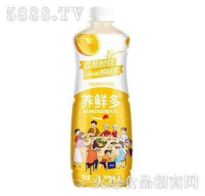 养鲜多乳酸菌果汁甜橙味1.25L
