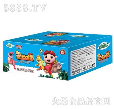 猪猪侠恐龙日记乳味饮料200mlx20瓶