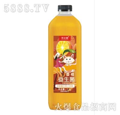 豫浪鑫香橙益生菌发酵果汁1.5L