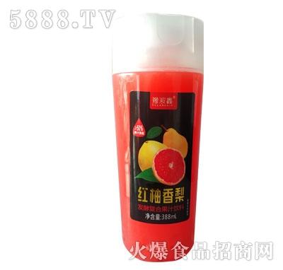 豫浪鑫红柚香梨发酵复合果汁饮料388ml