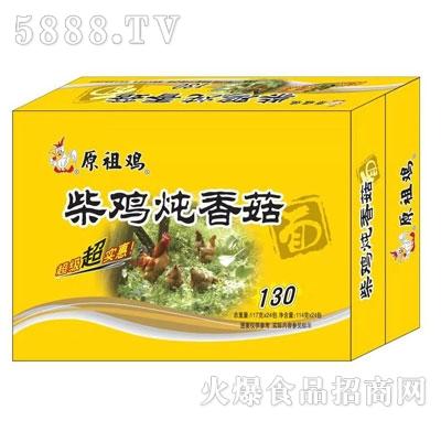 原祖鸡柴鸡炖香菇味面117gX24产品图