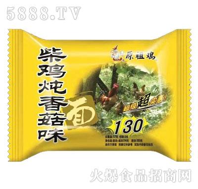 原祖鸡柴鸡炖香菇味面117g产品图