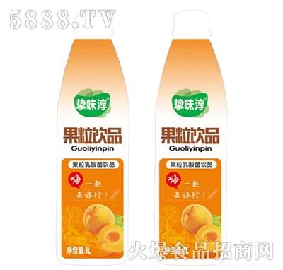 挚味醇黄桃果粒乳酸菌1L