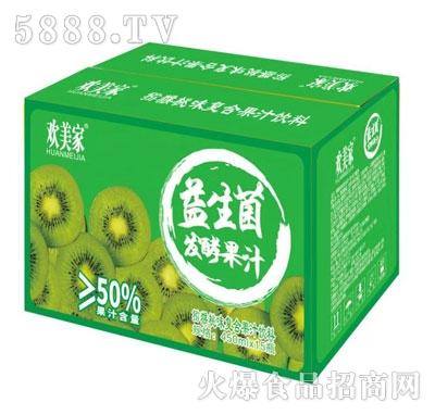欢美家益生菌发酵猕猴桃汁450mlX15
