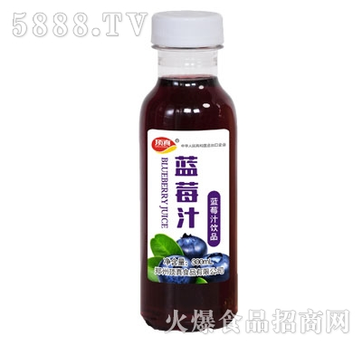顶真蓝莓汁饮品300ml