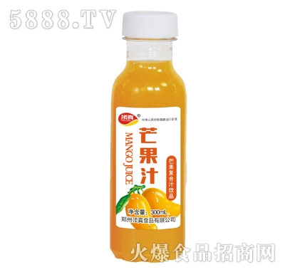 顶真芒果汁饮品300ml