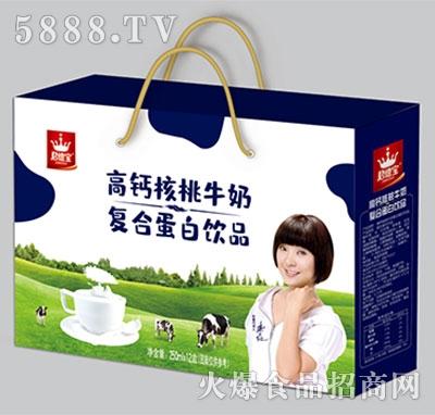 君德宝高钙核桃牛奶礼盒装