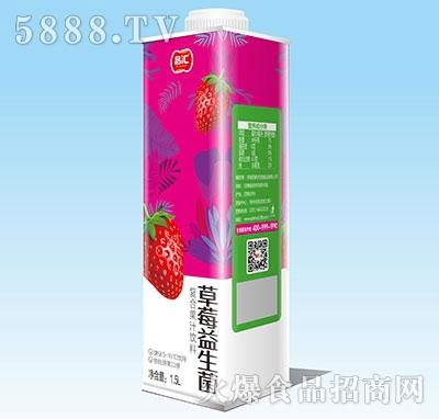 品汇草莓益生菌复合果汁1.5L
