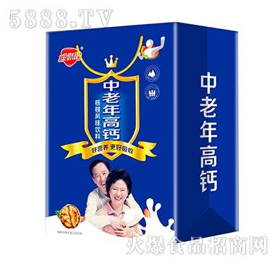 金娇阳中老年高钙核桃风味饮料礼盒装
