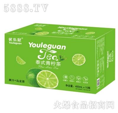 优乐冠泰式青柠茶400mlX15