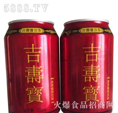 吉寿宝凉茶植物饮料310ml