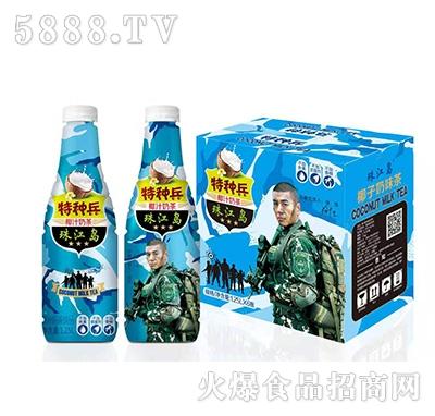 特种兵椰汁牛奶茶植物蛋白饮料1.25Lx6瓶