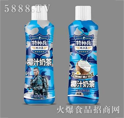 特种兵椰汁奶茶植物蛋白饮料1.25L