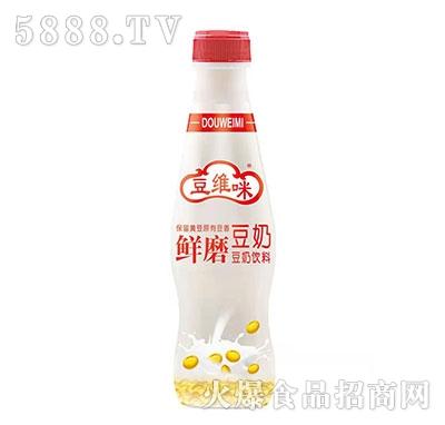 豆维咪鲜磨豆奶饮料产品图