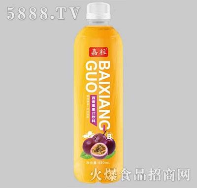 嘉粒百香果果汁饮料480ml产品图