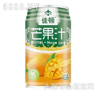 佳顿芒果汁果汁饮料310ml产品图