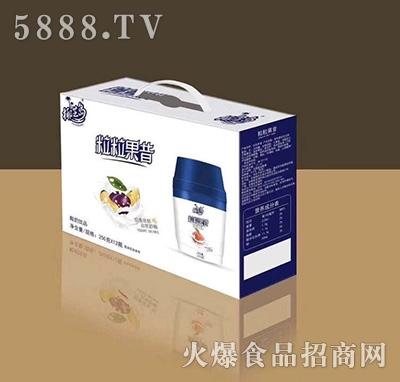 椰芝岛粒粒果昔酸奶250mlx12瓶