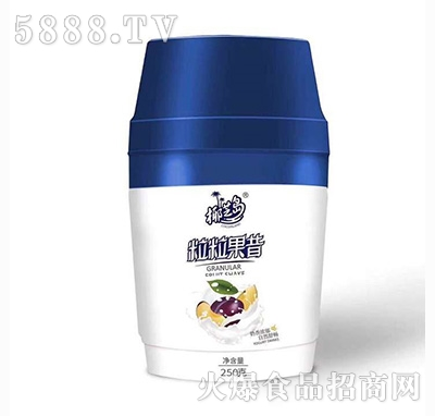 椰芝岛粒粒果昔酸奶250ml