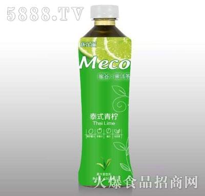 优乐滋港式青柠果汁茶饮料