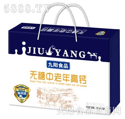 九阳无糖中老年高钙奶250mlx12盒
