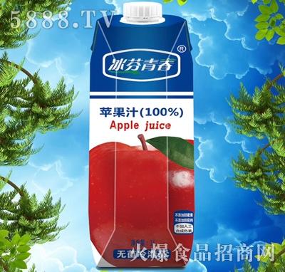 冰芬青春苹果汁饮料1000ml