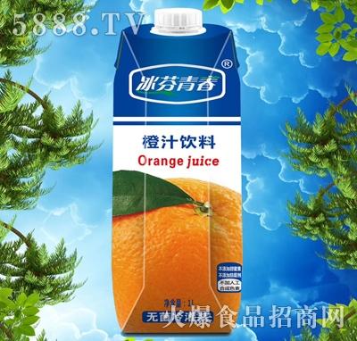 冰芬青春橙汁饮料1000ml