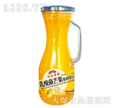 知乐果园乳酸菌芒果果肉果汁
