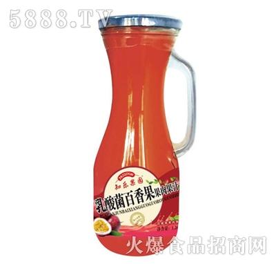 知乐果园乳酸菌百香果果肉果汁