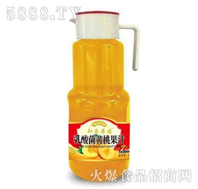 知乐果园乳酸菌黄桃果汁