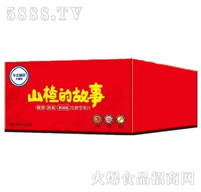 山楂的故事发酵型山楂汁350mlx15瓶箱装