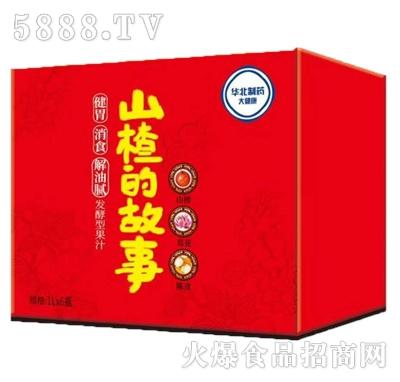 山楂的故事发酵型山楂汁1Lx6瓶箱装