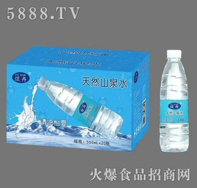 煜冉天然山泉水550mlX20产品图