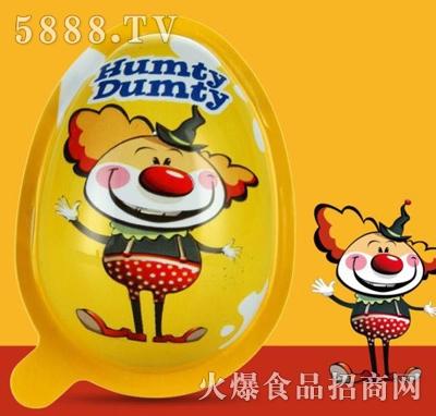 哈姆提巧克力奇趣蛋(黄)产品图