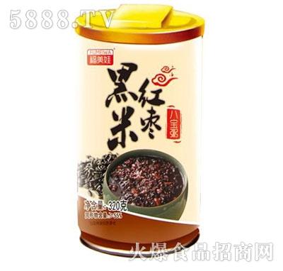 福美娃黑米红枣粥320g