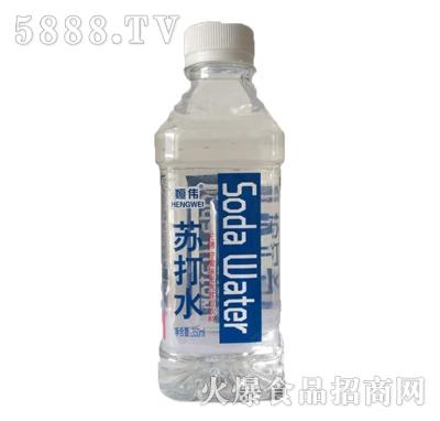 恒伟苏打水饮料350ml