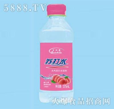 百仕露�o汽�K打水蜜桃果味�料375ml